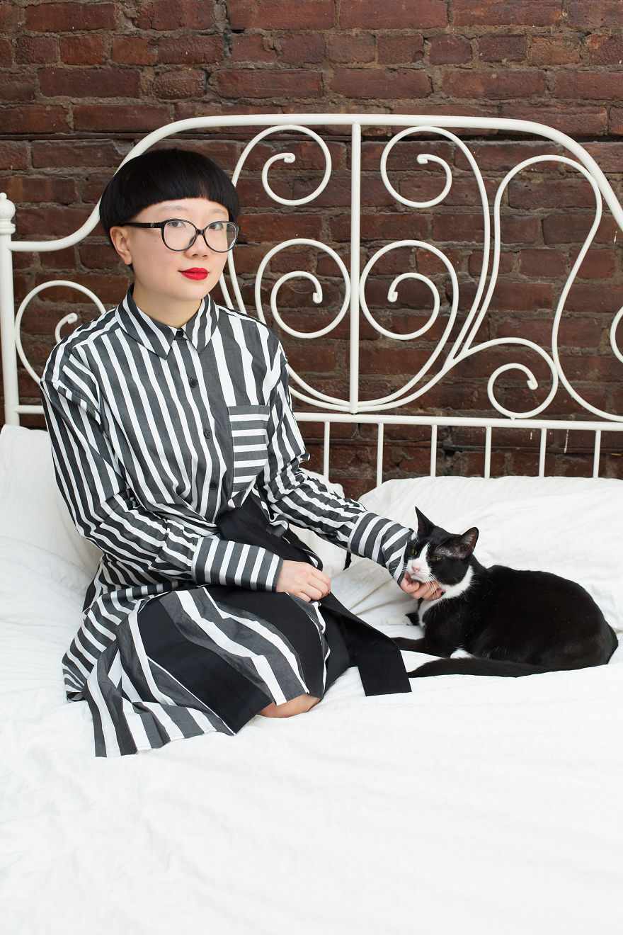 crazy cat lady stereotype